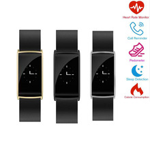 NK108 Smart Band Bracelet Heart Rate Monitor Wristband Fitness Tracker Blood Pressure Smartband for iPhone Samsung LG HTC HuaWei