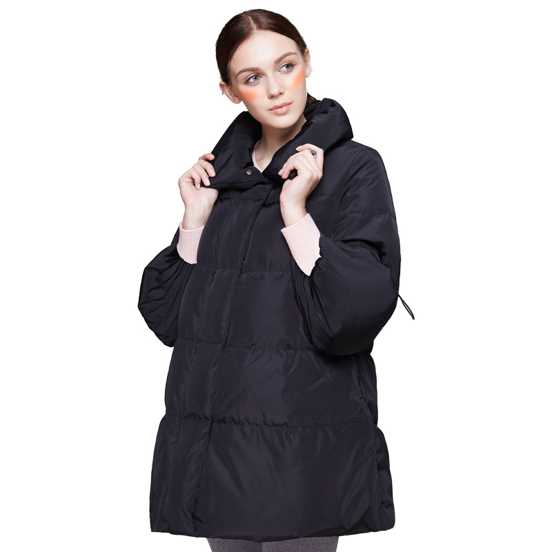 New Fashion Maternity Down Jackets Coats Women Warm Winter Partial Thickness Cute Pocket Soft Solid Pregnancy Outerwear new winter women bomber jackets ladies cropped coats slim fit female coats with badge women outerwears