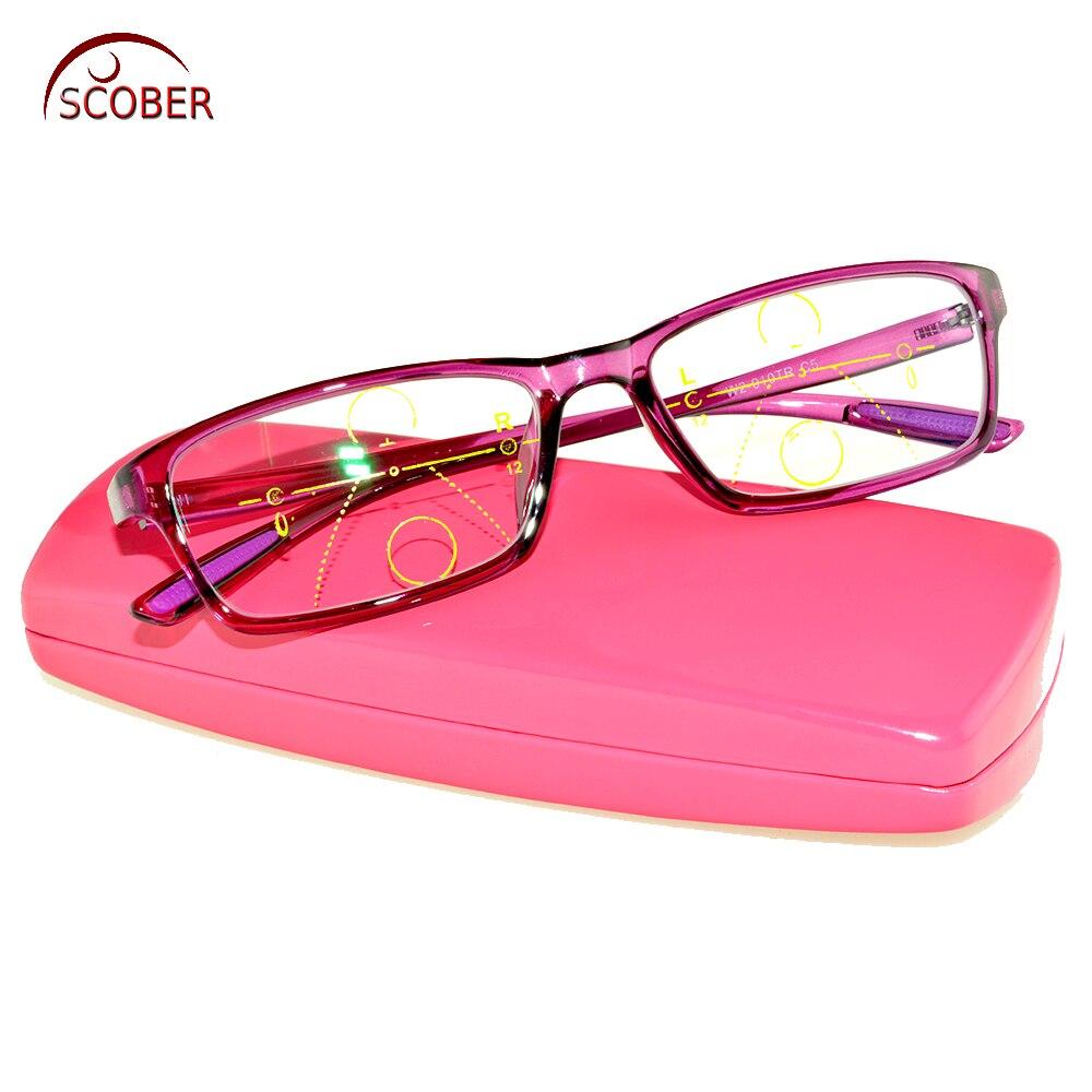 5d30b4aa8f917 SCOBER   lectura multifocales progresivas gafas cuadrado púrpura TR90  ultraligero super resistente ver cerca y lejos superior 0 agregar 1 a 4