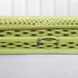Image 2 - Il trasporto libero ispessisce materasso di massaggio doppio singolo dormitorio materasso in fibra di bambù aria materassino da campeggio