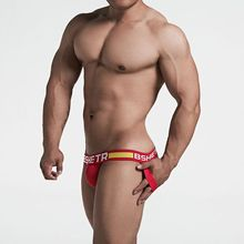 New Jocks Men Mesh Low Waist Sexy Men Underwear Briefs Gay Penis Pouch Wonderjock Bikini Underwear Man Jockstrap thong tanga