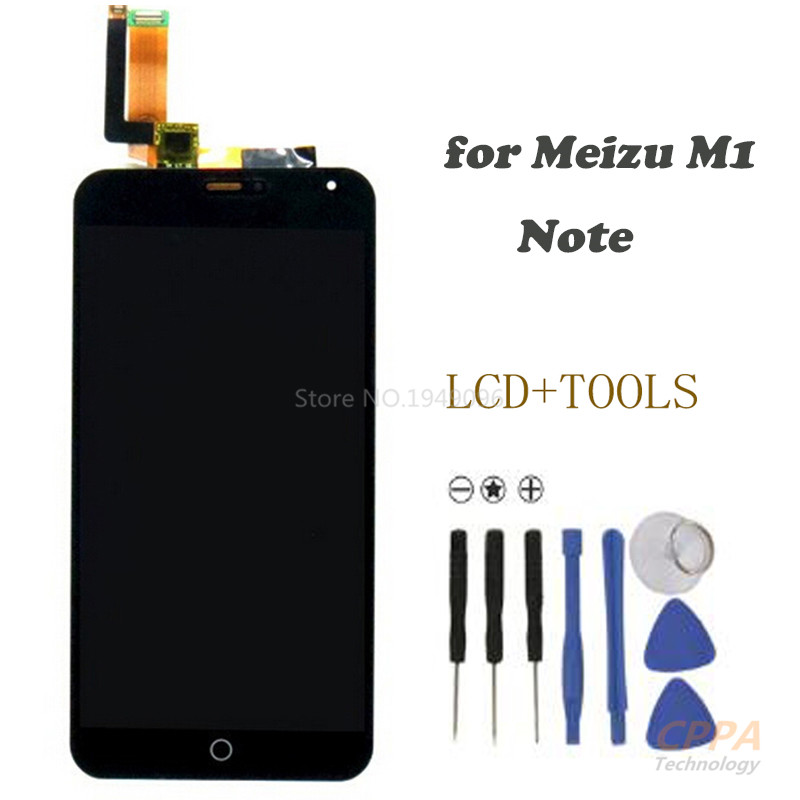 High Quality LCD Screen for Meizu M1 Note LCD Display +Touch Screen Replacement Screen For Meizu M1 Note free shipping