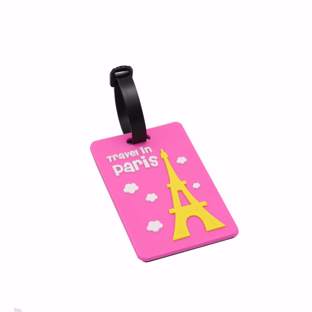 DEZEMIN Suitcase Luggage Tags Name Tag for Travel