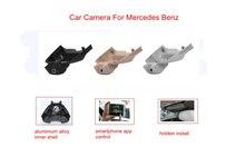 PLUSOBD HD Wifi Hidden Car DVR Camera For Mercedes Benz GLK X204 2009-15 High Configuration 1080P WDR Car Black Box Night Vision
