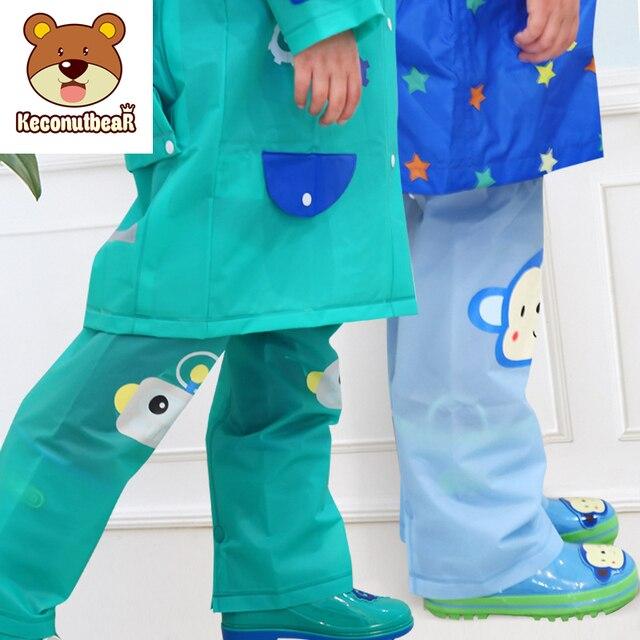 3-10 anni I Bambini Polpaccio Pioggia Pantaloni Da Trekking Impermeabili Gamba G