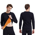 Conjuntos de Inverno Mais Grossa de Veludo quente Long Johns Mens Quente Roupa Interior Térmica Dos Homens Longo Johns Roupa Interior Térmica Conjuntos de Underwear