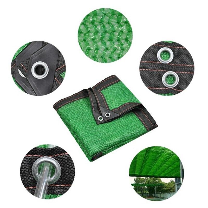 Customized 1.5*3.8m Green Anti-UV HDPE Sunshade Net