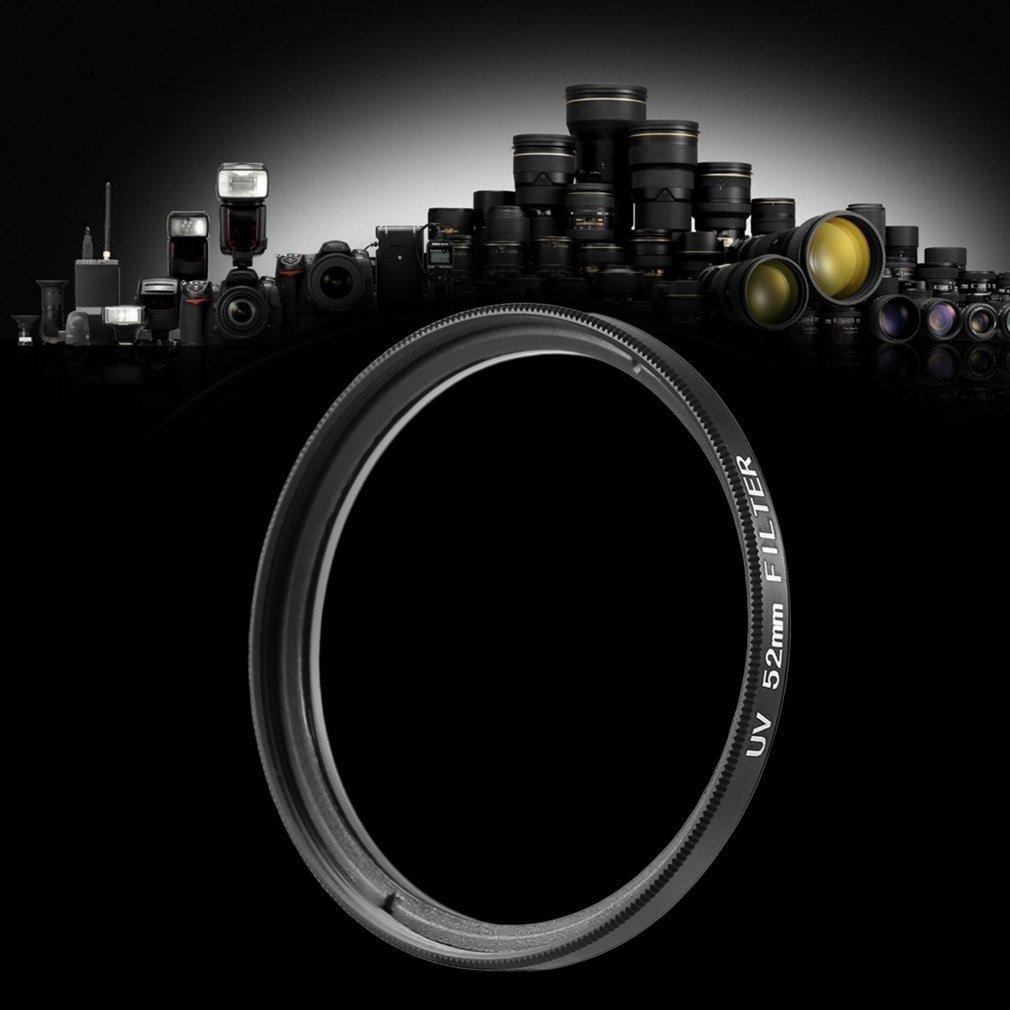 52mm Haze UV Filter Lens 52mm Lens Protector For DSLR/SLR/DC/DV Camera Lens Dust-proof Moisture-proof Scratch-proof