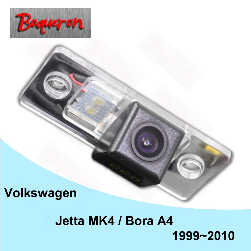 BOQUERON for Volkswagen Jetta MK4 / Bora A4 1999~2010 HD CCD Night Vision Backup Parking Reverse Camera Car Rear View Camera leewa for volkswagen golf6 magotan beetle scirocco bora polo passat b7 hd auto backup rear view car camera ca4828