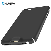 CHUNFA Qi Wireless Charger Receiver Case For IPhone 6 6S Wireless Charging Qi Receiver Matte Hard