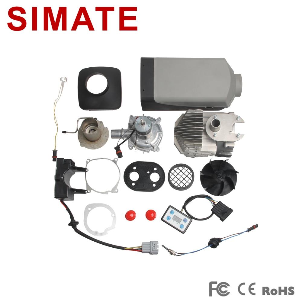 Calentador de estacionamiento Diesel 12 voltios 2500W Similar a Web - Electrónica del Automóvil - foto 2