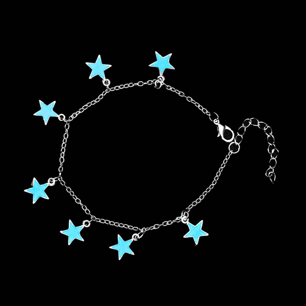 2017 new arrival fluorescent bracelets bangles heart star shape bracelets luminous glow in the. Black Bedroom Furniture Sets. Home Design Ideas