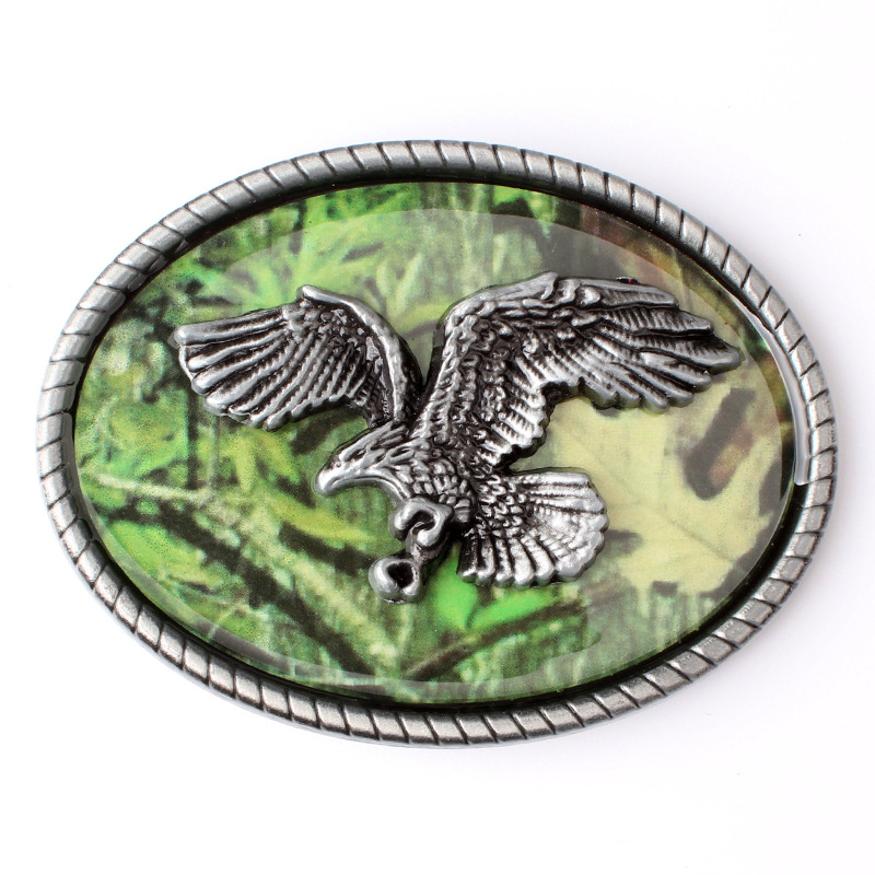 The Color Pattern Of  Personality Belt Buckle