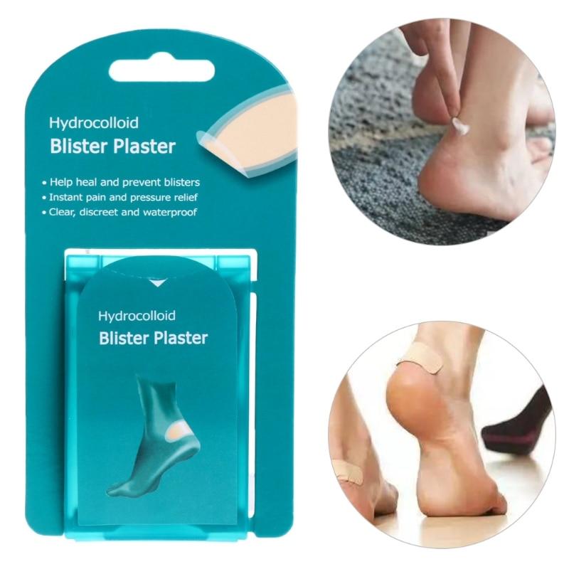 Image 3 - 4Pcs Cura Del Piede Della Pelle Rilievo In Gesso Idrocolloide  Blister Patch Tacco Protector Nuovo-in Attrezzo per cura del piede da  Bellezza e salute su