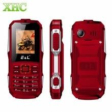 """Кен xin да E & L K6900 мобильного телефона IP68 Водонепроницаемый пыле противоударный 1.8 """"2000 мАч bluetooth fm фонарик Dual SIM телефона"""