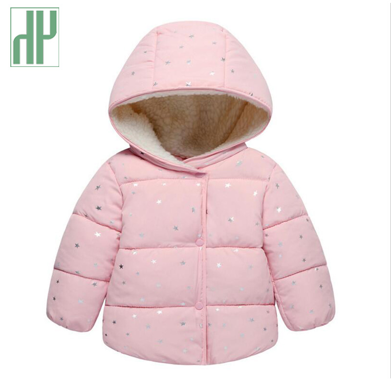 bbd35c115 HH Autumn baby winter jacket for girls children jacket Cotton Padded ...