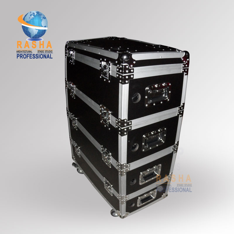 24X LOT Penta V9 Rasha 5in1 RGBAW Battery Powered&Wireless LED Par Can With 24in1 Stackable Charging Road Case,ADJ PAR LIGHT