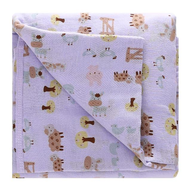 Toalha de banho de algodão recém-nascidos do bebê animal bonito dos desenhos animados do banho do bebê toalha de banho do bebê Recém-nascido toalha 6 camadas de gaze toalha cobertor kxmcyj