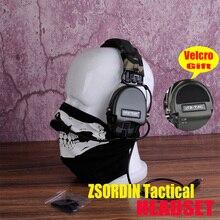 Element Z-TAC анти-шум Sordin тактическая гарнитура для страйкбола охоты(z111