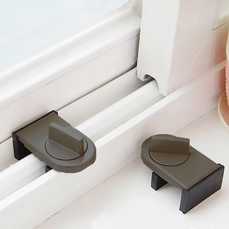 Anti-theft Child Safety Door Window Lock Security Latches Sliding Sash Stopper