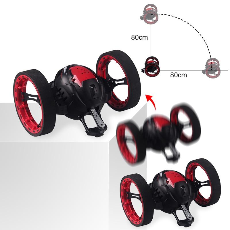 2.4G RC Bounce Car con salto de luz LED Música Equilibrio - Juguetes con control remoto - foto 1