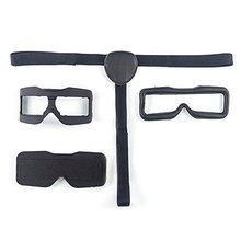 Skyzone 3D FPV Goggles Face Plate Очки Тени Для Век w/Держатель для Уютнее Носить Запасные Части