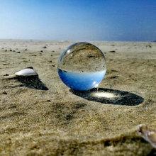 Прозрачный хрустальный шар Волшебная Сфера стеклянный глобус шарик для фотографии Хрустальный Ремесло Украшение