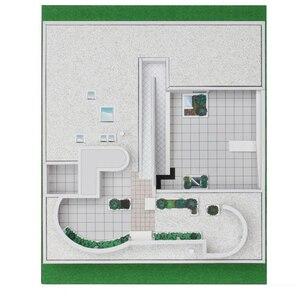 Image 4 - Craft Paper Model Le Corbusier Villa Savoye  3D Architectural Building DIY Education Toys Handmade Adult Puzzle Game