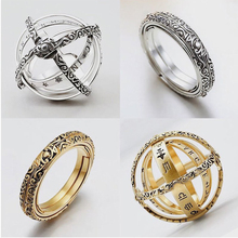 Astronomical Ring Men Jewelry Gifts for Women Locket Ring