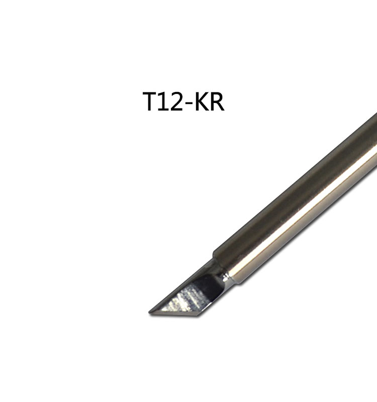 Gudhep T12-KR Welding Tips T12 Soldering Iron Tips for FX950 FX951 <font><b>FM203</b></font> Soldering Rework Station FM2028 FM2027 Iron Handle image