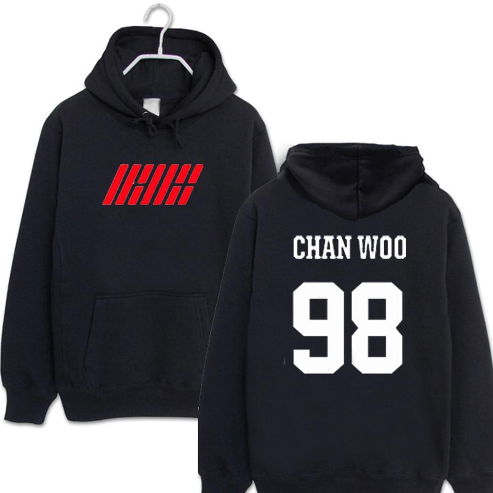 5 Capuche Hommes 2 À Et Femmes 7 14 Bi 4 Jinhwan Sweatershirt 1 13 Hyeong Yun Kpop Ikon Album 10 3 11 12 8 9 6 Bobby PnOwXk80