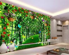 Oothandel d wallpaper mural corridor gallerij koop goedkope d