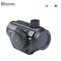 Micro Dot Sight Holographic 5 MOA Red/Green Dot Reflex Sight Optic Sight Rifle Laser Scope with 20mm Rail and eyes cover caza