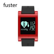 Fuster Женщина Моде Здоровый Сердечный ритм и Кровяное Давление Монитор Bluetooth Смарт Браслет для Android и IOS Смартфон Группа