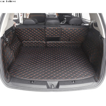 Car Believe car trunk mat For subaru forester 2014 2017 2016 xv 2018 legacy  Cargo Liner Interior Accessories Carpet car styling