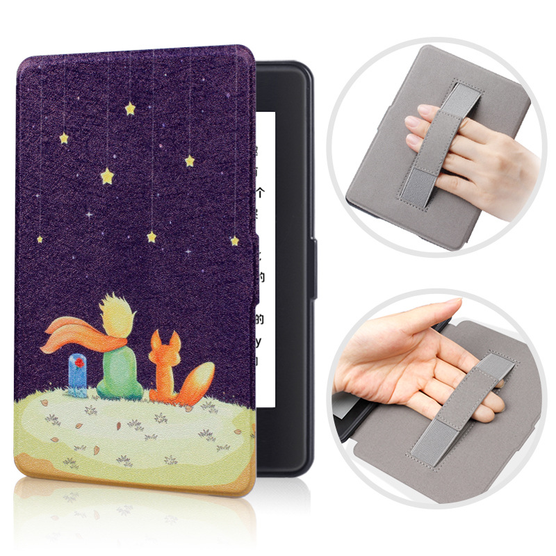 Nova Chegada 1 2 3 Descanso de Pulso Case para Amazon Kindle Paperwhite Smart Cover para 6 polegada leitor de E- caso Tablet para o Caso Paperwhite 1/2/3