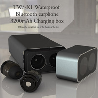 TWS M780 Twins Wireless Earbud Bluetooth Earphone Stereo 3200mAh Power Bank For Phone Sport Waterproof With