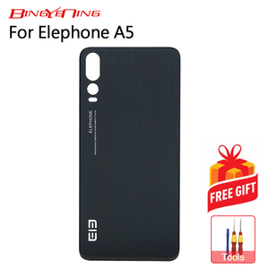 Image 2 - BingYeNing New Original Elephone A5 battery case Protective Battery Case Back Cover For 6.18 inch Elephone A5 Phone
