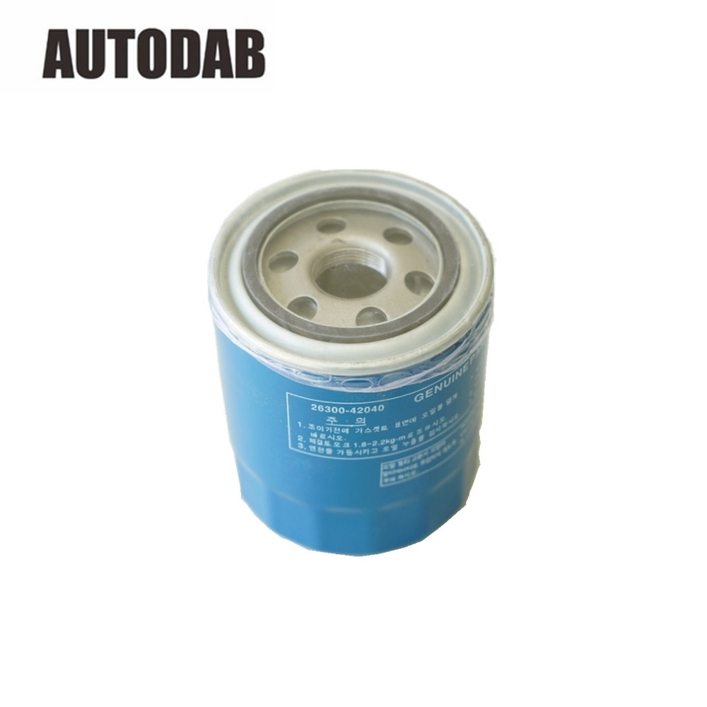 Oil Filter For Hyundai H 1 Starex Terracan Kia Besta