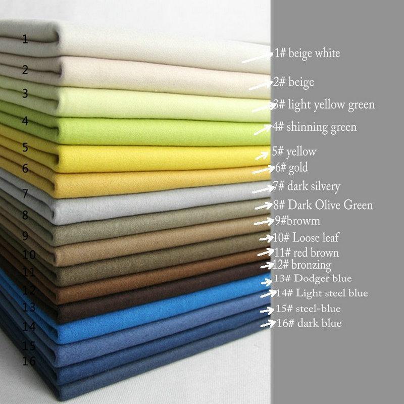 мельтон ткань купить - 12 color MELTON Woolen  Cloth fabric FOR Winter garment  wool & viscose W1H95