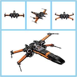 Image 4 - Starwars 05004 05145 10900 X Wing Star Starfighter Fighter Building Blocks toys for Children Compatible All Brand Star Plan Wars