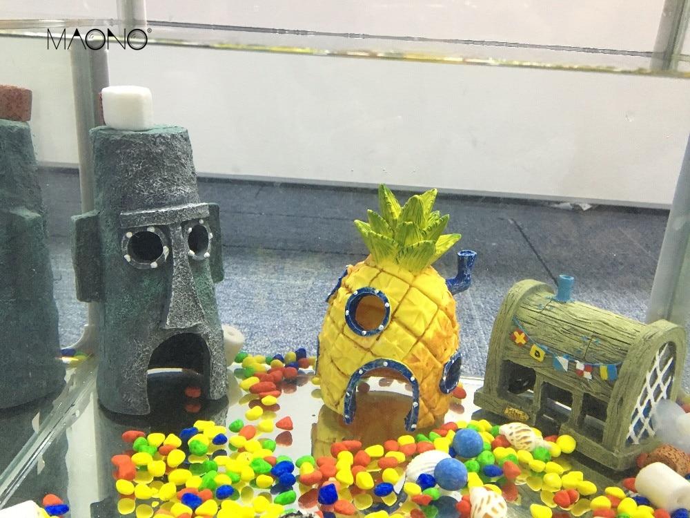 The last 6 hours aquarium decoration artificial fish tank for Ornamental fish tank