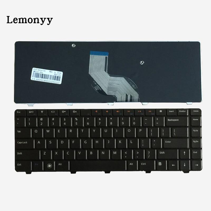 US Laptop Keyboard Fit For Dell Inspiron N4010 N4020 M4010R N4030 N5020 N5030 M5030 Keyboard English new for dell inspiron 1464 1564 1764 n4010 fan