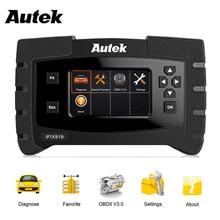 Autek ifix 919 نظام كامل OBD2 السيارات الماسح الضوئي ECU SRS SAS ABS نزيف EPB النفط إعادة تعيين ODB2 OBD 2 أداة تشخيص تحديث مجاني