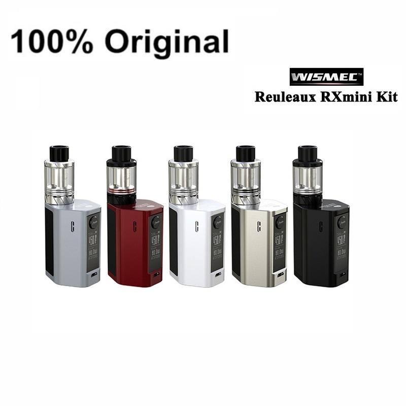 100% Original WISMEC Reuleaux RX mini Kit 80W Box MOD 2100mAh Bult-in Battery rx mini 80w Mod with 2ml Atomizer Tank (2)
