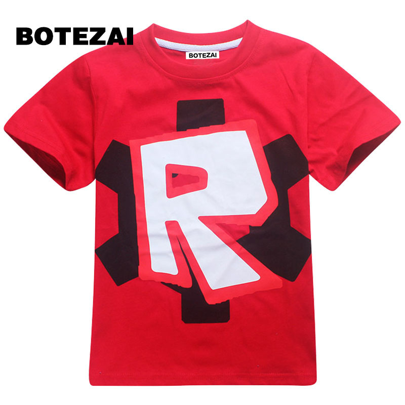 2017 kids clothes boys t shirt Roblox Stardust Ethical cotton t-shirt boys costume Star  ...