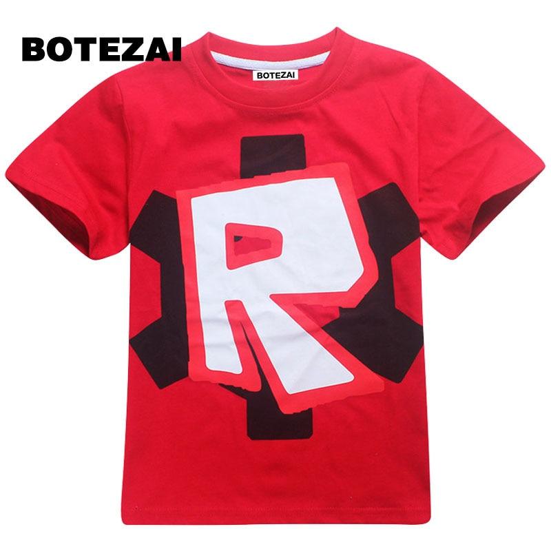 2017 kids clothes boys t shirt Roblox Stardust Ethical cotton t-shirt boys costume Star  ...
