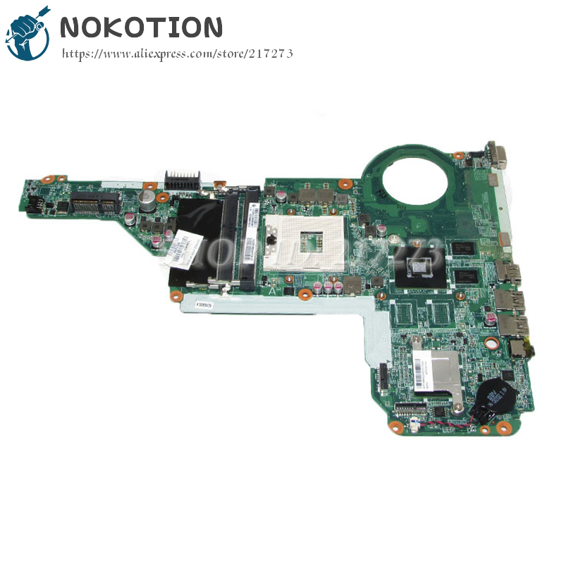 NOKOTION 720459-501 720459-001 DA0R62MB6E1 Laptop Motherboard For Hp Pavilion 15 17 15-E 17-E Main Board HD 8670M DDR3