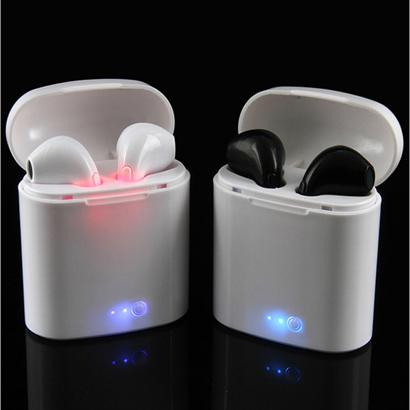 Portable Wireless  Bluetooth Earphones With Charging Box mini bluetooth Airpod Alternative 5