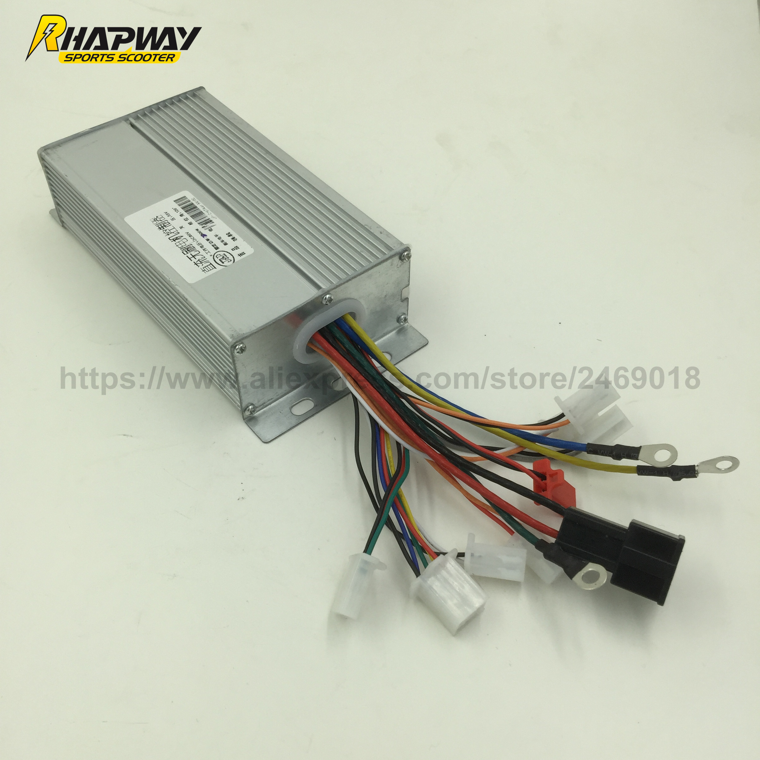 Electric Motor Scooter >> 2000W Scooter Brushless DC Motor Controller 60V BLDC Motor ...